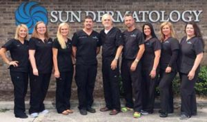 The Staff of Sun Dermatology Panama City, Florida