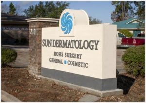 The offices of Sun Dermatology in Panama City, Florida