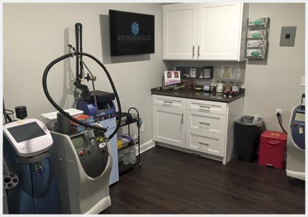 Sun Dermatology's Laser & Cosmetic Suite