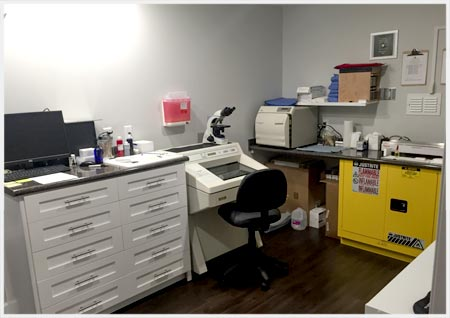 Sun Dermatology's On-site Laboratory