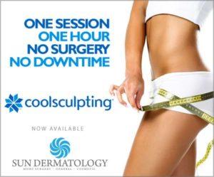Panama City CoolSculpting at Sun Dermatology